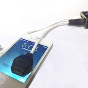 HDBOX - iSensor Cable. Our sensor used in recovering usercode process for iphone and ipad.